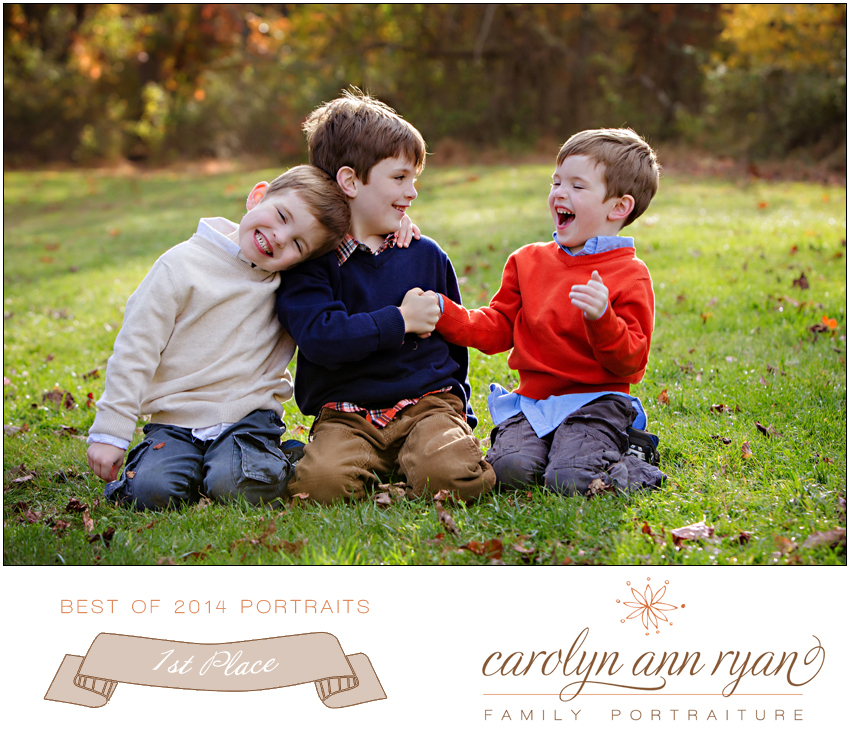 Charlotte NC Family Photographer Carolyn Ann Ryan Best of 2014 Portraits winner first place
