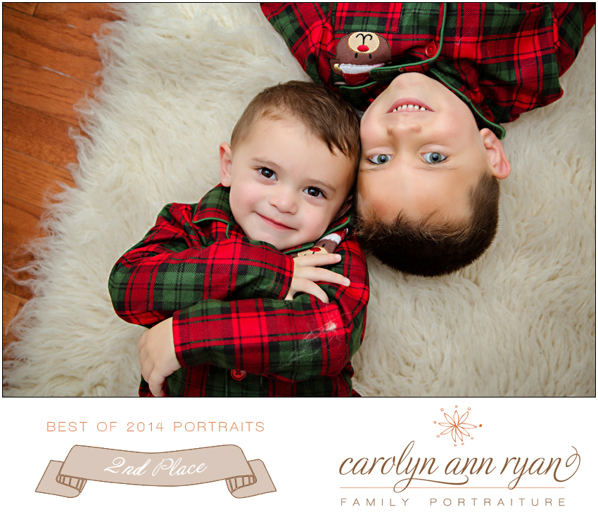 Marvin, NC Family Photographer Carolyn Ann Ryan Best of 2014 Portraits winner second place