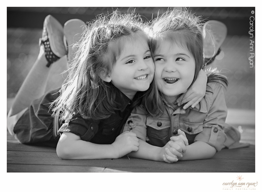 Adorable Hug Photo by Charlotte NC Child Photographer Carolyn Ann Ryan