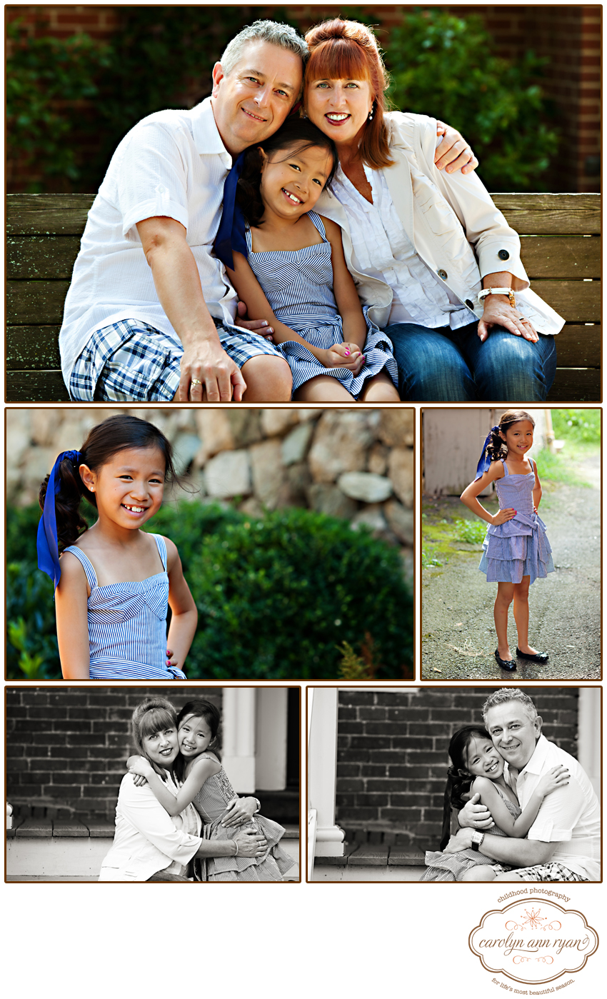 Family Photographer, Carolyn Ann Ryan captures portraits in Basking Ridge