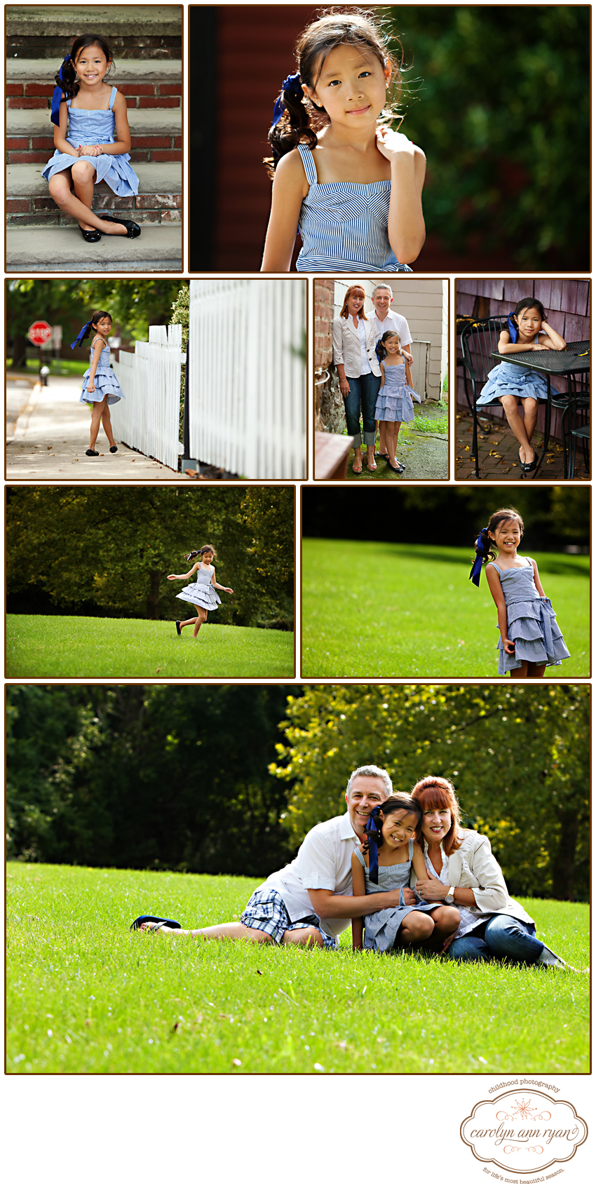 Family Portrait Session in Basking Ridge, NJ