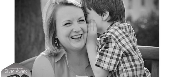Charlotte NC Family Photographer Award Winning Mother and Son portrait wins silver award from WPPI