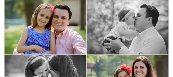 Delightful Family Photographer in Charlotte NC photographs four daughters