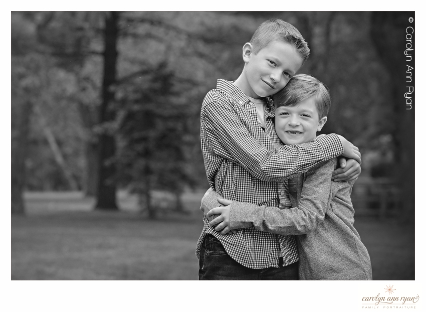 Charlotte NC Family captures Heart Warming Sibling Hug Photos