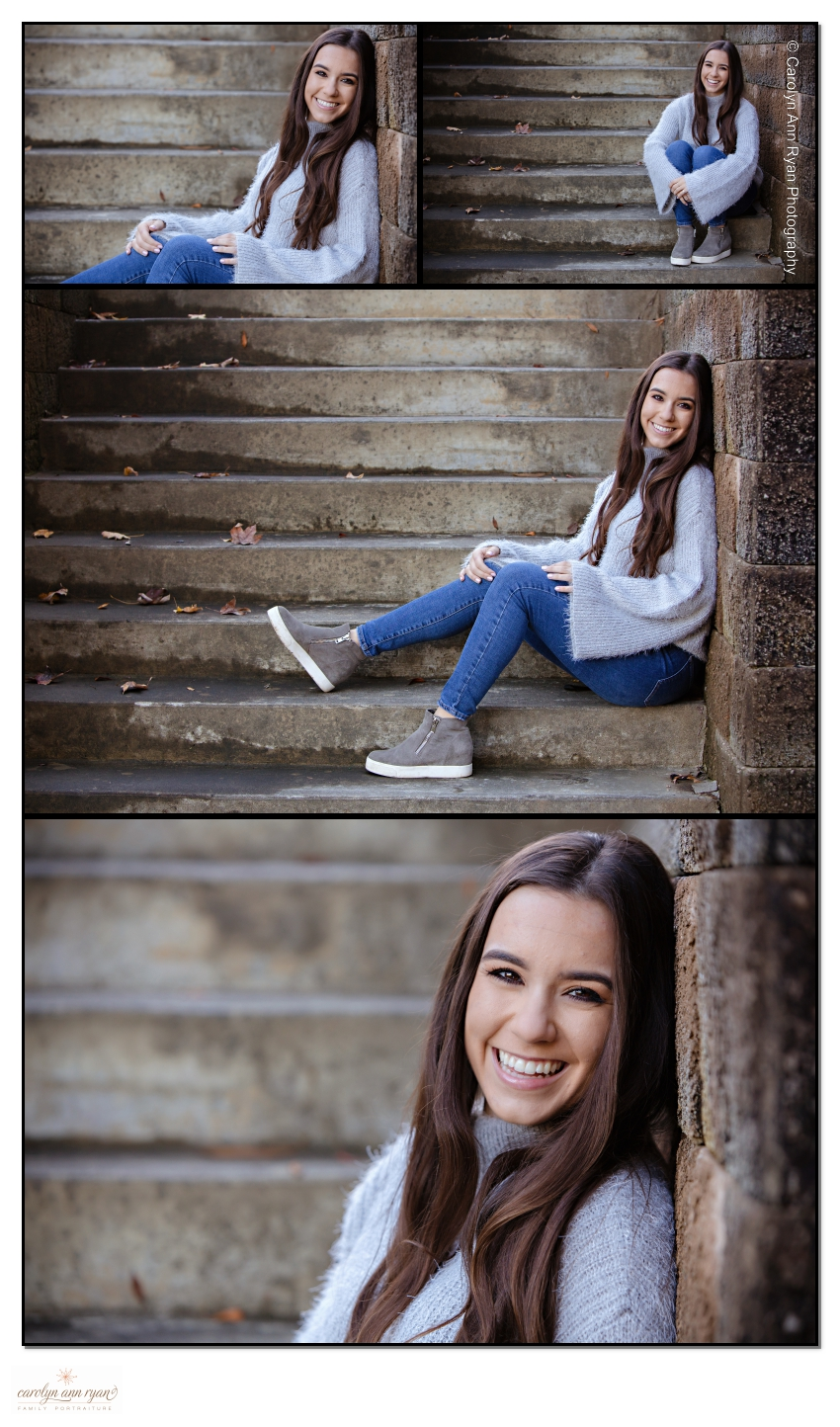 Elegant Autumn Senior Photos
