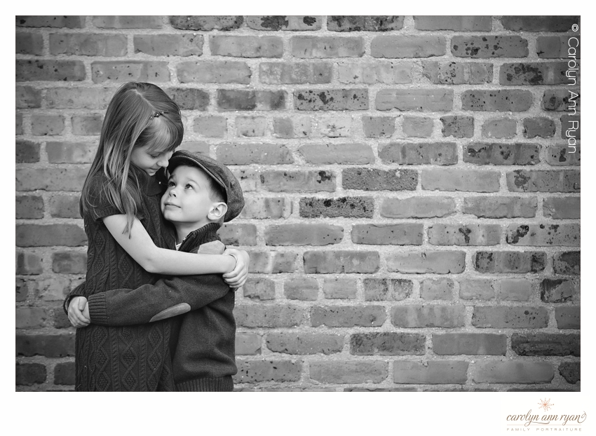 Endearing Sibling Photograph by Carolyn Ann Ryan