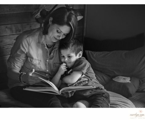 Engaging Charlotte NC Family Photographer for National Tell A Story Day