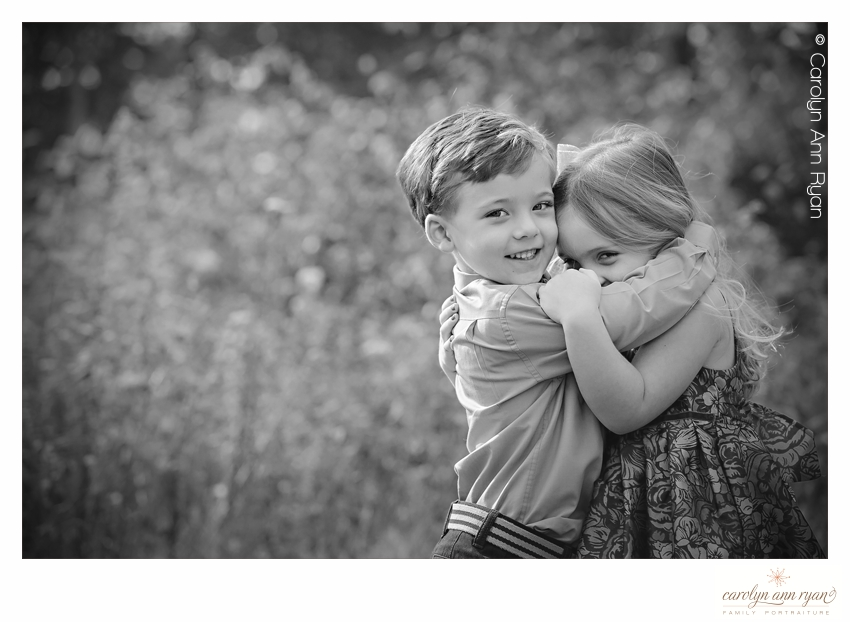 Heartwarming Hug Photos from Charlotte NC Family Photographer