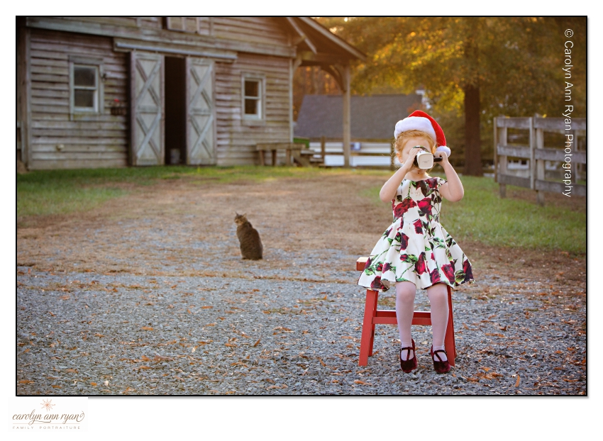 Holiday Styled Portraits in Charlotte