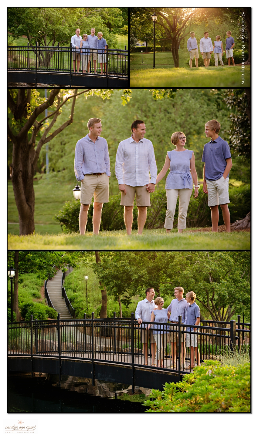 Memorable Charlotte Family Pictures taken in the Ballantyne area.