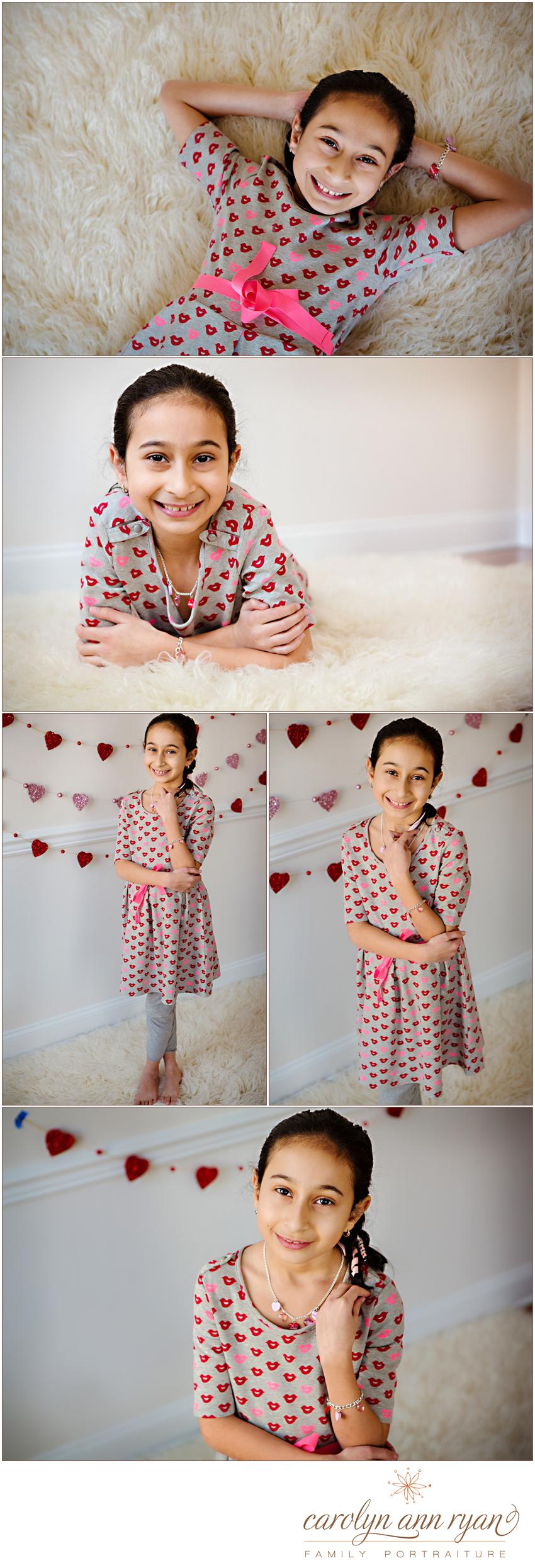 carolyn ann ryan photographs young lady in westfield portrait studio