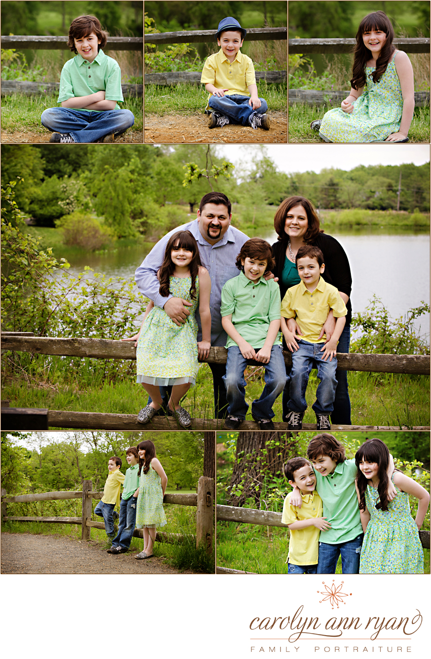 New Jersey Family and Child Portraits in Holmdel
