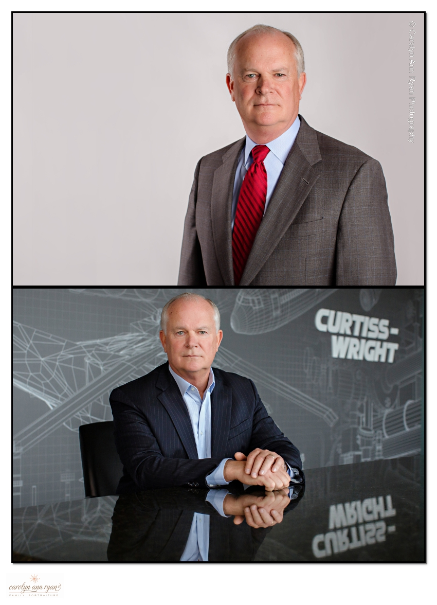 Chief Executive Business Portraits for public company annual report in Charlotte NC