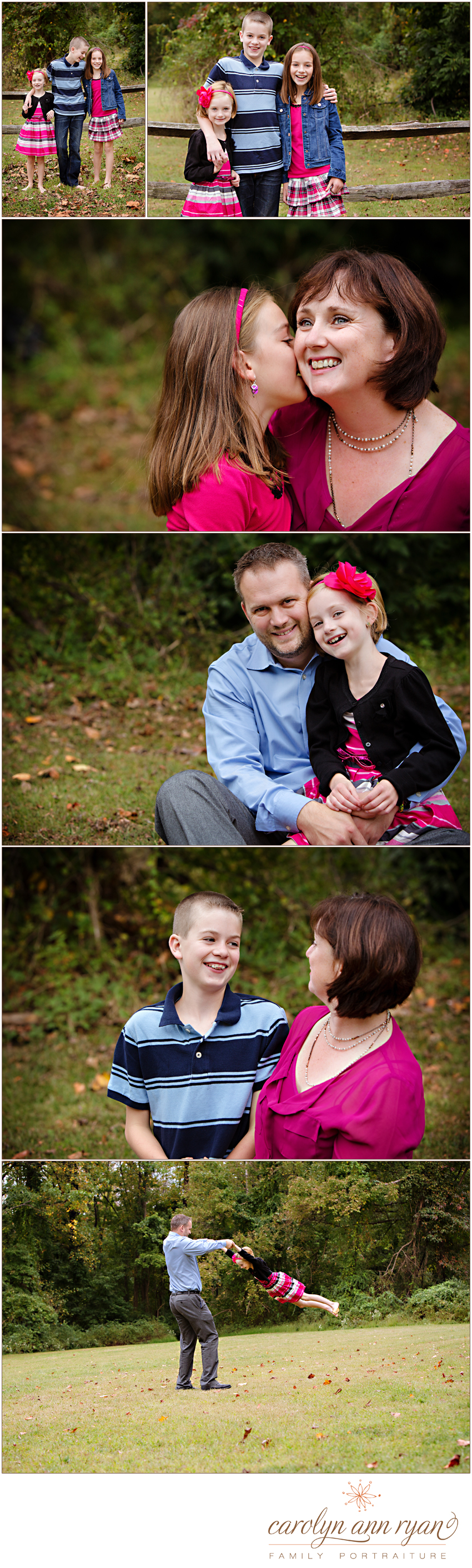 Scotch Plains Family Portrait Session 3