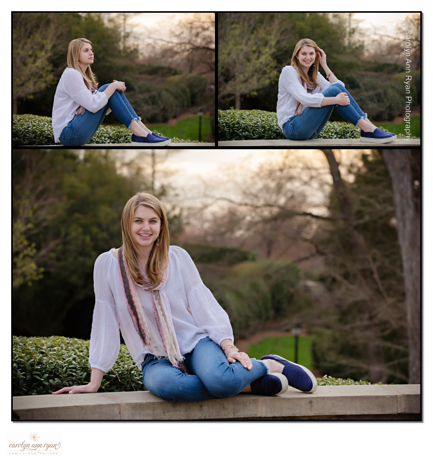 Charlotte Senior Portrait Posing Ideas