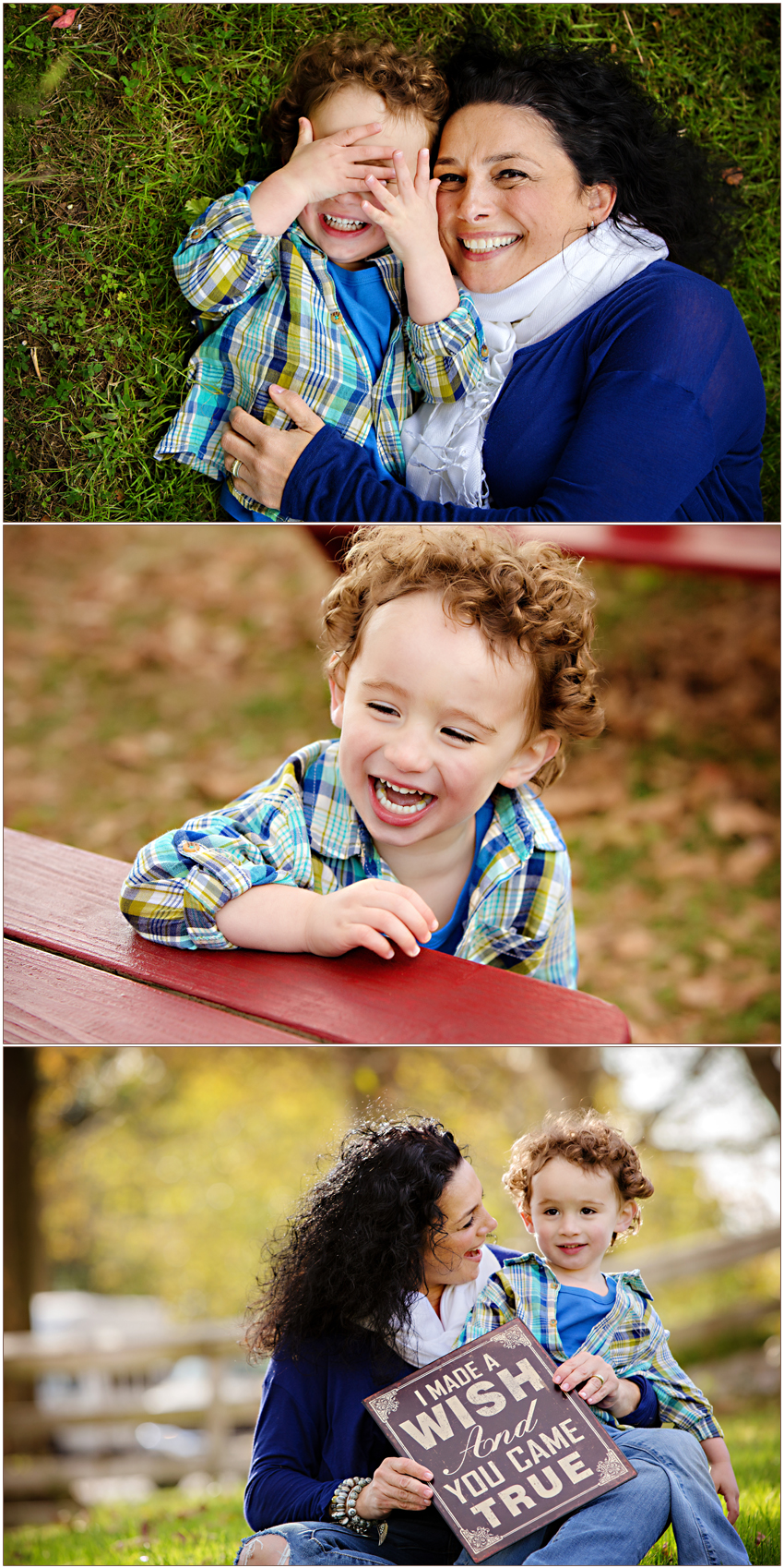 Charlotte Child Photographer Carolyn Ann Ryan captures adorable giggles
