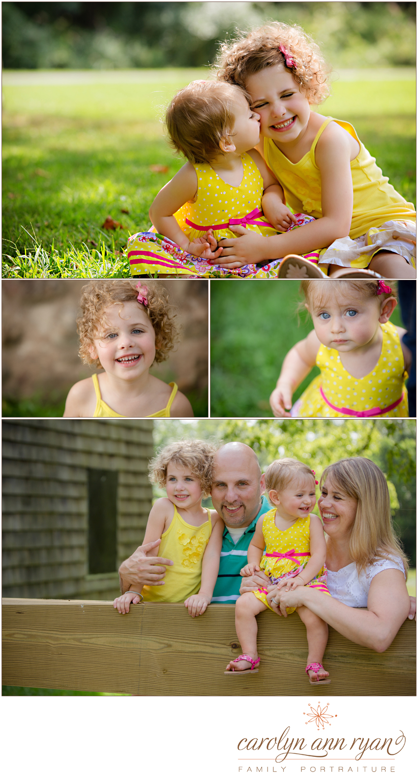 Charlotte Family Photographer photographs Spring Portrait Session