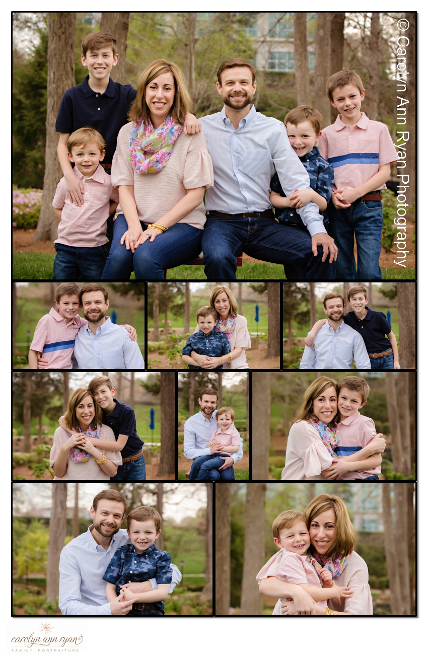 Adorable Sweet Charlotte Family Photography session by Carolyn Ann Ryan