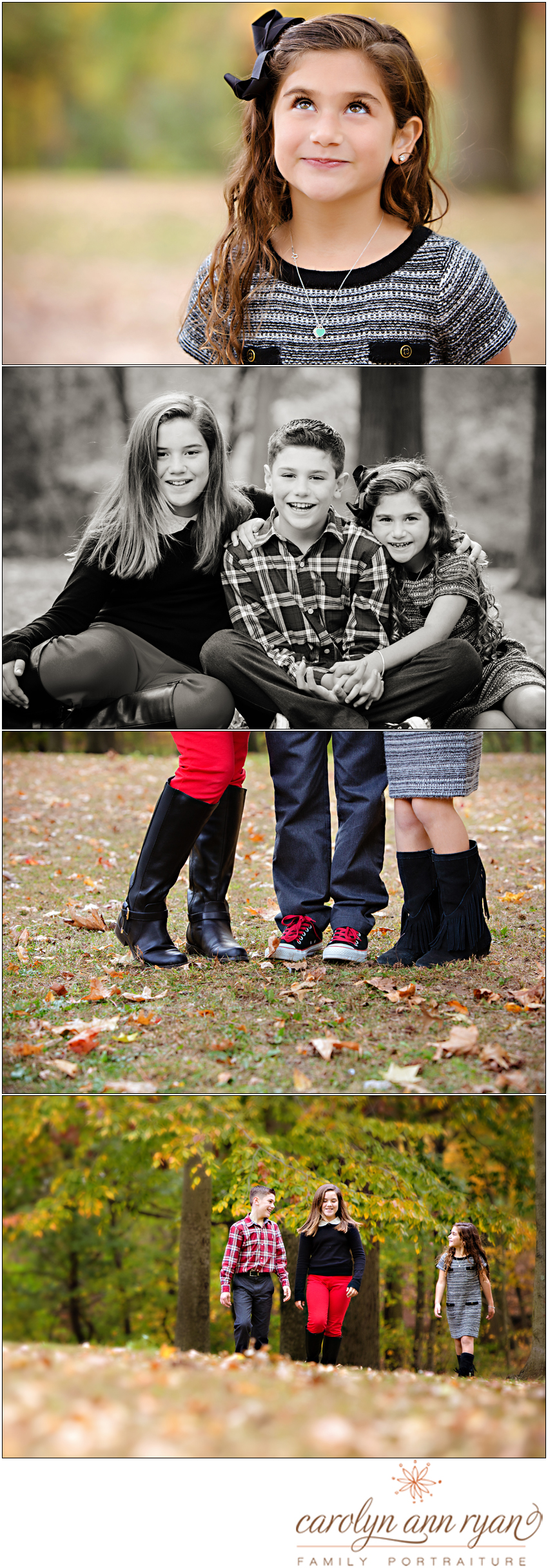 Child and Family portraits by Carolyn Ann Ryan Photograhy in Northern NJ and North Carolina
