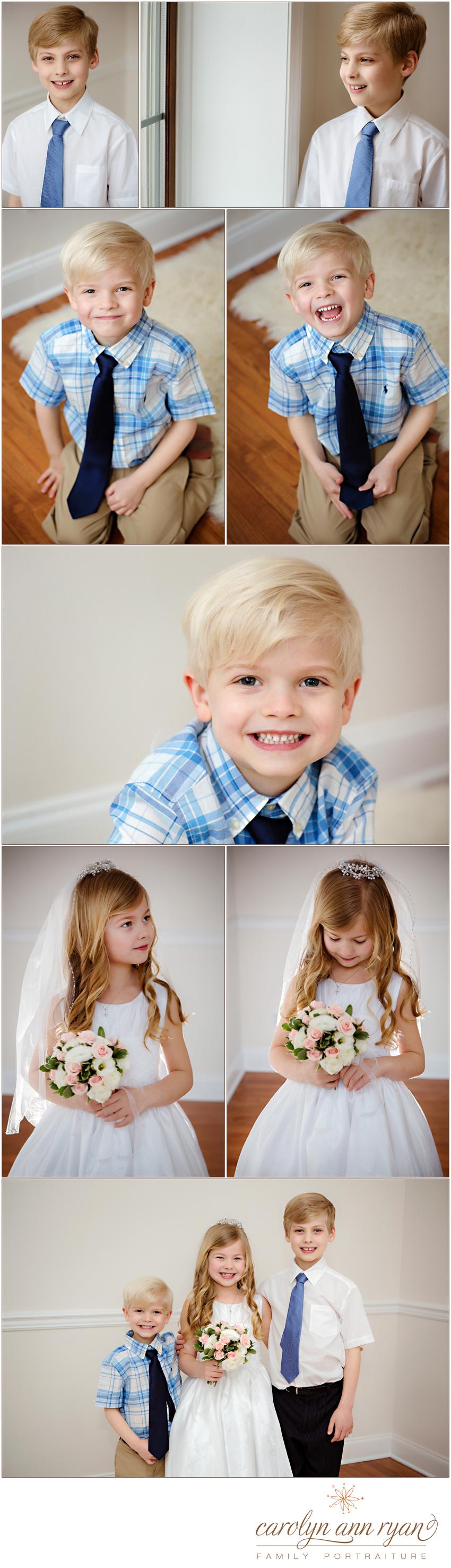 Westfield NJ Child & Family Photographer Carlyn Ann Ryan photographs a beautiful family