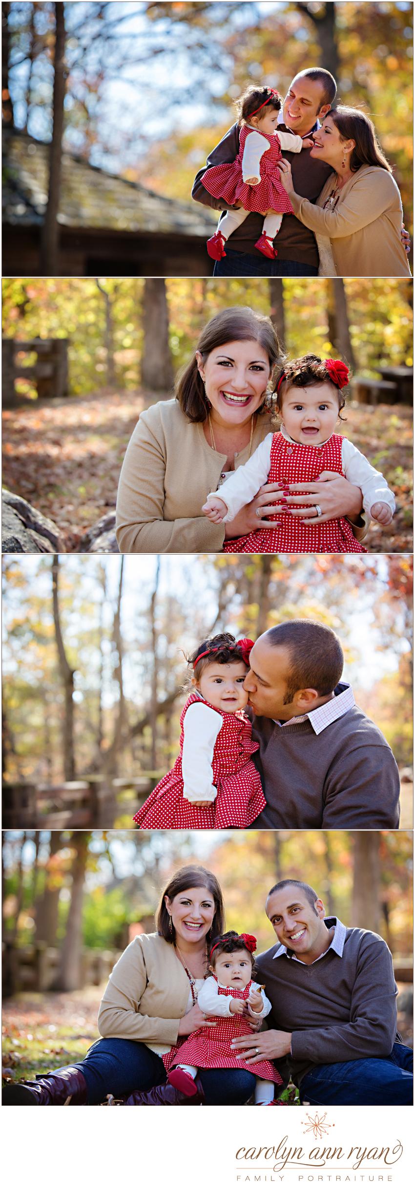 Marvin NC Family Photographer Carolyn Ann Ryan photographs Fall Family Portrait Session